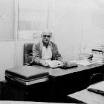 Diretor da Escola de 1964 a 1986, Frederico Guilherme Büendgens.