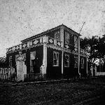 Prédio da Escola de Aprendizes Artífices de Santa Catarina na rua Almirante Alvim, 17 – 1910.