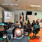 Aula inaugural do curso de Gestão Pública da UAB (Universidade Aberta do Brasil).