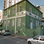 Vista atual do prédio da Escola de Aprendizes Artífices de Santa Catarina, o endereço atual é Rua Victor Konder, 262.