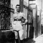 Professor Edmundo Bruno Paegle – Escola Industrial de Florianópolis – década de 1940.