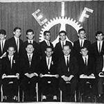 Quadro de docentes da Escola Industrial de Florianópolis – década de 1940.