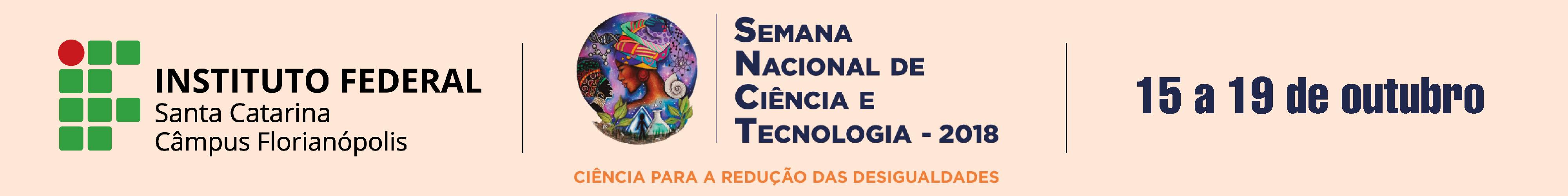 ..::Semana Nacional de Ciência e Tecnologia::..